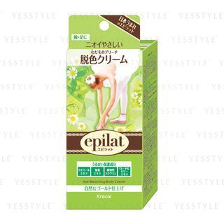 Kracie - Epilat Hair Bleaching Body Cream 120g 1057475579