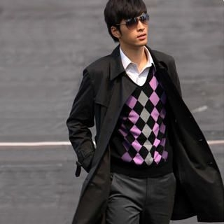 Picture of Justyle Belted Double-Breasted Trench Coat 1021547306 (Justyle, Mens Outerwear, China)