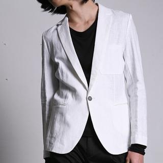Buy REENO Single-Button Linen Jacket 1022509562