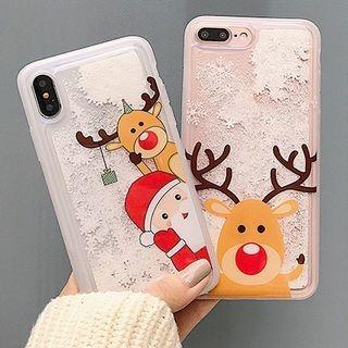 Christmas Print Phone Case - iPhone 6 / 6 Plus / 7 / 7 Plus / 8 / 8 Plus / X 1063825638