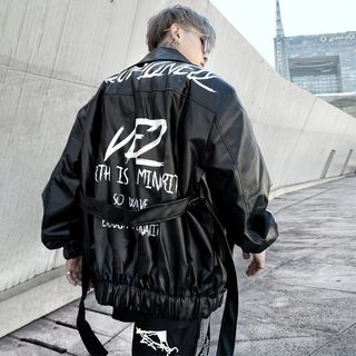 Image of Lettering Zip Jacket