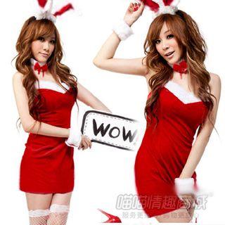 Bunny Girl Lingerie Costume Set 1064532891