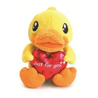 B. Duck Recording Plush (M) One Size