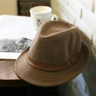 Picture of BoynMen Faux Leather Trim Hat 1021561646 (BoynMen, Mens Hats & Scarves, Korea)