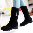 Metal-Accent Short Boots 1596
