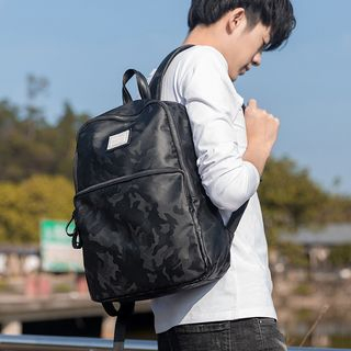 Lightweight | Camouflage | Backpack | Black | Camo | Size | One