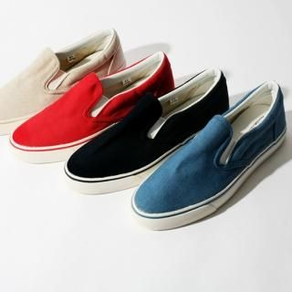 Picture of G-NARU Basic Slip-Ons 1023032527 (Slip-On Shoes, G-NARU Shoes, Korea Shoes, Mens Shoes, Mens Slip-On Shoes)