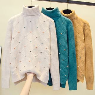 Turtleneck | Sweater | Bobble