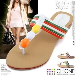Picture of Chione Thong Sandals 1022810528 (Sandals, Chione Shoes, Korea Shoes, Womens Shoes, Womens Sandals)