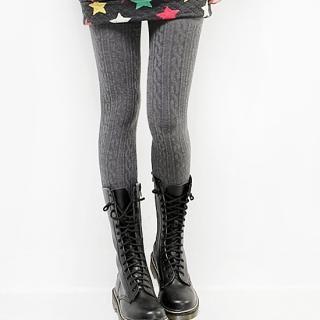 Buy Beccgirl Knit Leggings (2 Designs) 1021642049