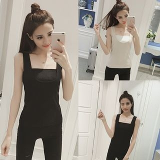 Fleece Lined Shaping Tank Top 1055043874
