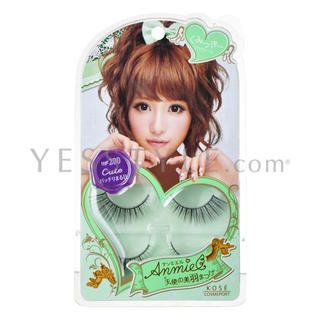 Kose - Anmiel Eyelash #200 2 pairs + glue