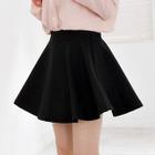 Elasticized Waist Mini Skirt 1596