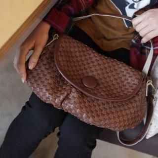 Buy pinkdiamond Woven Shoulder Bag 1022469770