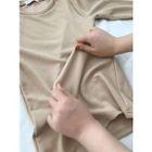 Crew-Neck Ribbed Slim-Fit T-Shirt 1596