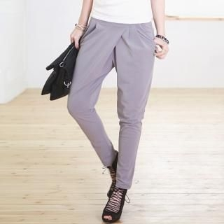Buy SDKING Banded Waist Pleated Pants 1022476817