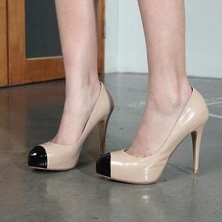 Patent Color-Block Pumps