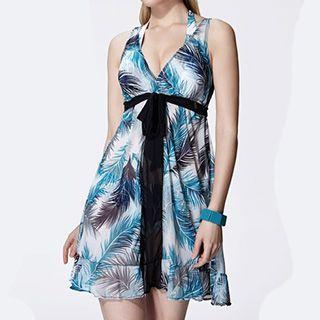 Set: Patterned Bikini + Sundress 1045378440