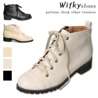 Buy Wifky Lace-Up Ankle Boots 1022240508