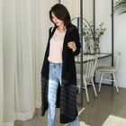 V-Neck Buttoned Long Cardigan 1596