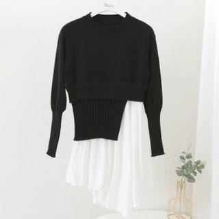 Two-Piece | Black | Dress | Size | One