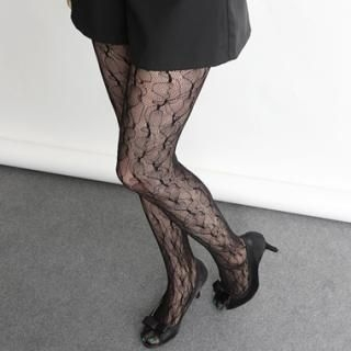 Buy HARU Patterned Mesh Stockings 1022721664