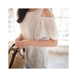 Cutaway-Shoulder Top 1061001230