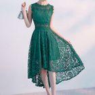 Dip-Back Lace Dress 1596
