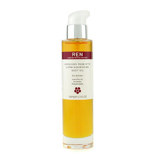 Ren  Moroccan Rose Otto Ultra Nourishing Body Oil 100ml3.3oz
