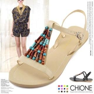Buy Chione Bejeweled Thong Sandals 1022804541