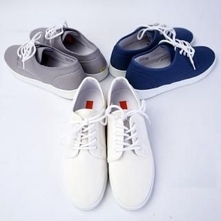 Buy moscod Lace-Up Canvas Sneakers 1022952132