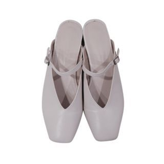 Square-Toe Mary-Jane Slide Sandals 1065491327