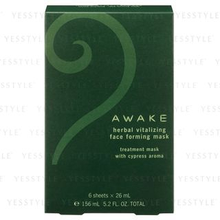 Awake Herbal Vitalizing Face Forming Mask 6 pcs