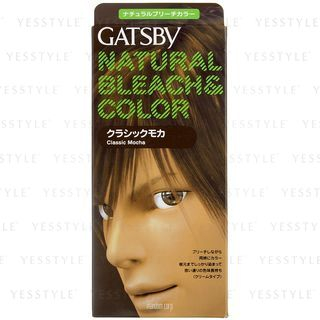 Mandom - Gatsby Natural Bleach & Color (Classic Mocha) 1 set 1022091212