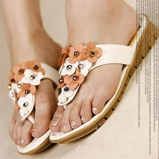 Picture of Kvoll Beaded Appliqu  Mules 1023009797 (Other Shoes, Kvoll Shoes, China Shoes, Womens Shoes, Other Womens Shoes)