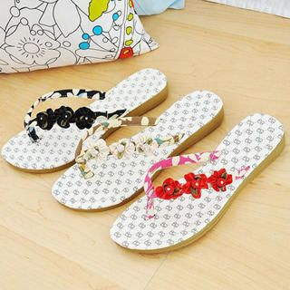Picture of KAWO Flowers Flip-Flops 1023014550 (Other Shoes, KAWO Shoes, China Shoes, Womens Shoes, Other Womens Shoes)