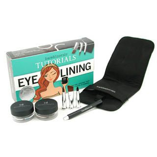 Buy Bare Escentuals – BareMinerals Eye Lining Tutorials: 2x Liner Shadow + 3x Magbetic Liner Brush + 1x Brush Pouch 5pcs+1pouch
