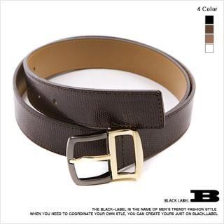 Buy Style Impact Faux Leather Belt 1022910486