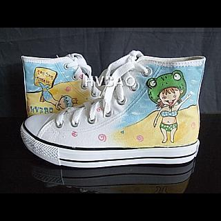 Buy HVBAO  Little Savior and Mermaid  High-Top Sneakers 1013057609