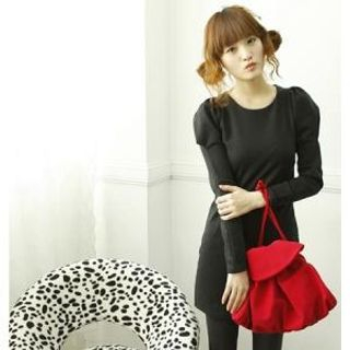 Buy Dodostyle Leg of Mutton Sleeve Dress 1022004691