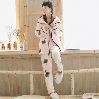 Long-sleeve | Pajama | Robe | Set