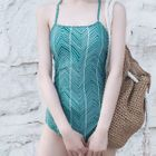 Patterned Swimsuit 1596
