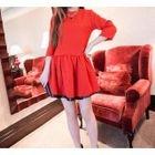 3/4 Sleeve A-Line Dress от YesStyle.com INT