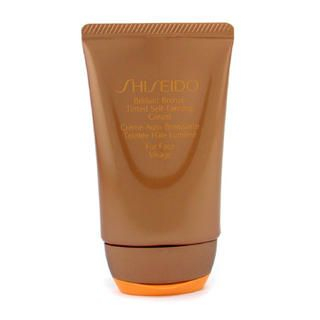 Buy Shiseido – Brilliant Bronze Tinted Self-Tanning Cream – Medium Tan ( For Face ) 50ml/1.8oz