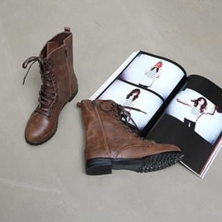 Picture of Koo Lace-Up Boots 1023059202 (Boots, Koo Shoes, Korea Shoes, Womens Shoes, Womens Boots)