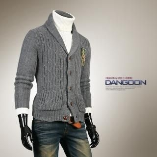 Buy DANGOON Knit Cardigan (Crest Not Included) 1021667395