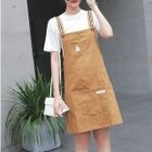 Set: Short Sleeve T-Shirt + Pinafore Dress 1596