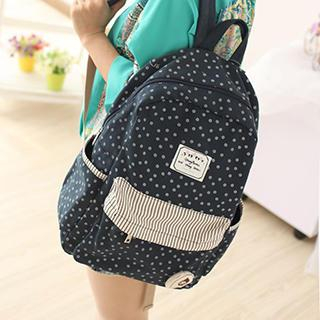 Backpack   Canvas   Floral   Print
