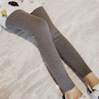 Plain Ribbed Leggings 1596