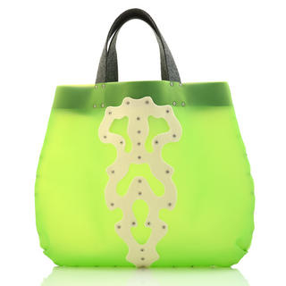 Duothic Jelly Tote Green, Cream - One Size 1030768885